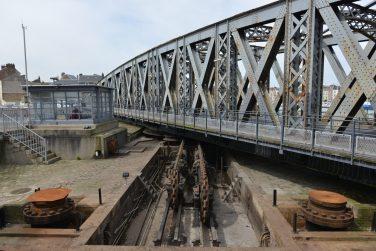 Maintenance du pont Colbert ®Ville de Dieppe