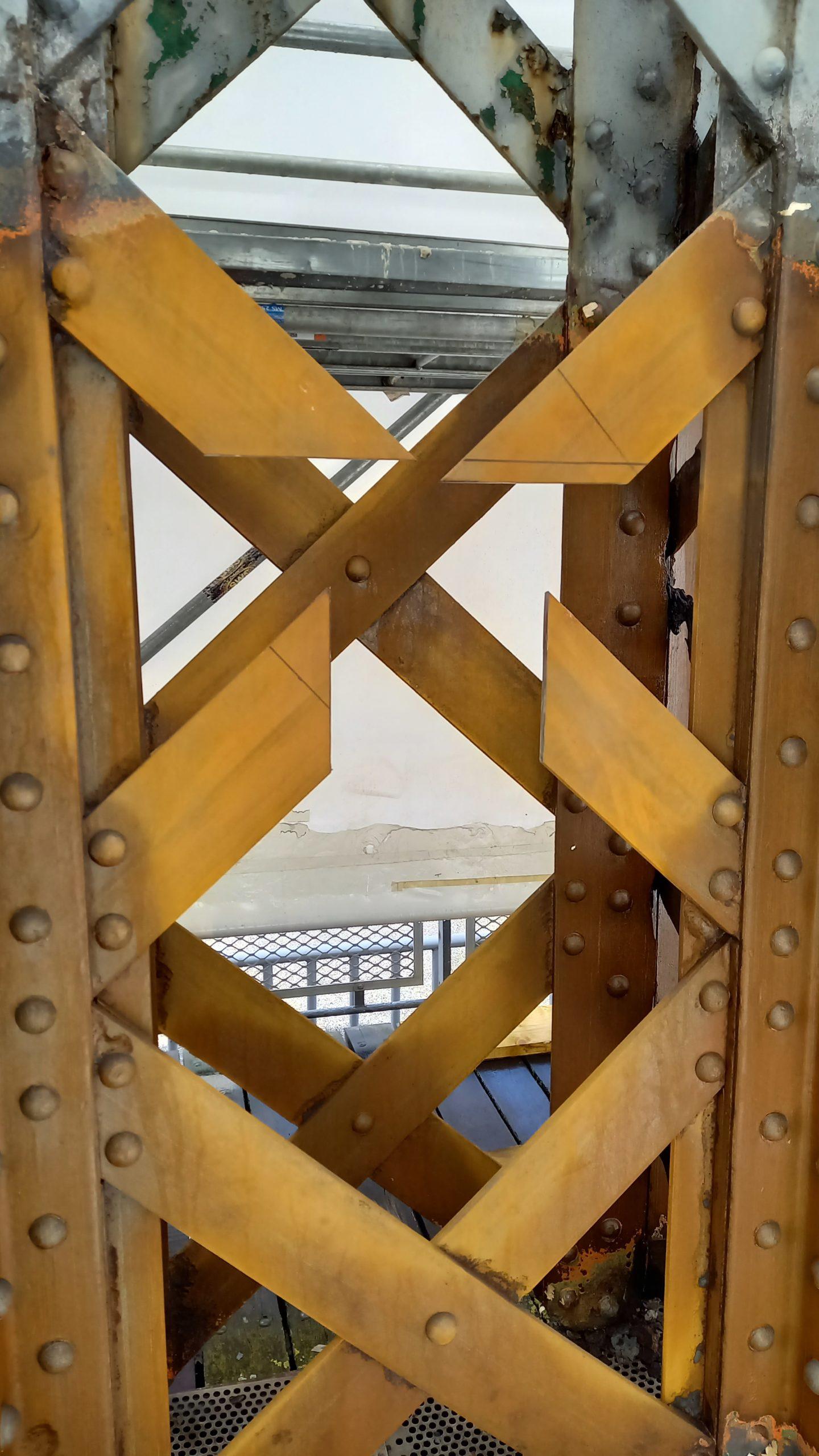 Pont Colbert - Découpe avant essai de soudure ®Ports de Normandie