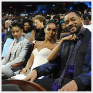 """NEWARK, NJ - MARCH 28: (L-R) Willow Smith, Jada Pinkett Smith, and Will Smith attend the """"Black Girls Rock!"""" BET Special at NJPAC Prudential Hall on March 28, 2015 in Newark, New Jersey. (Photo by D Dipasupil/BET/Getty Images for BET)"""
