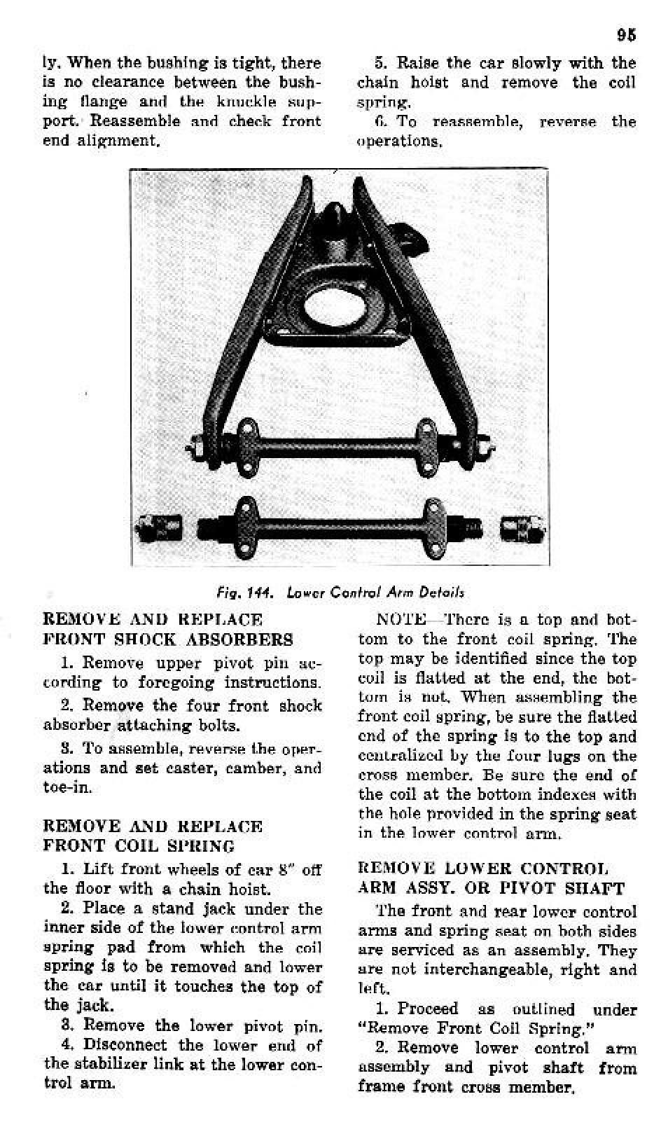 1941 Pontiac Shop Manual- Front Suspension Page 12 of 22