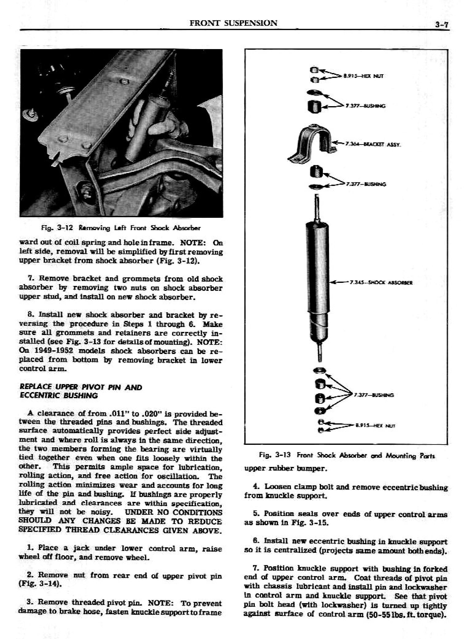 1949 Pontiac Shop Manual- Front Suspension Page 7 of 18