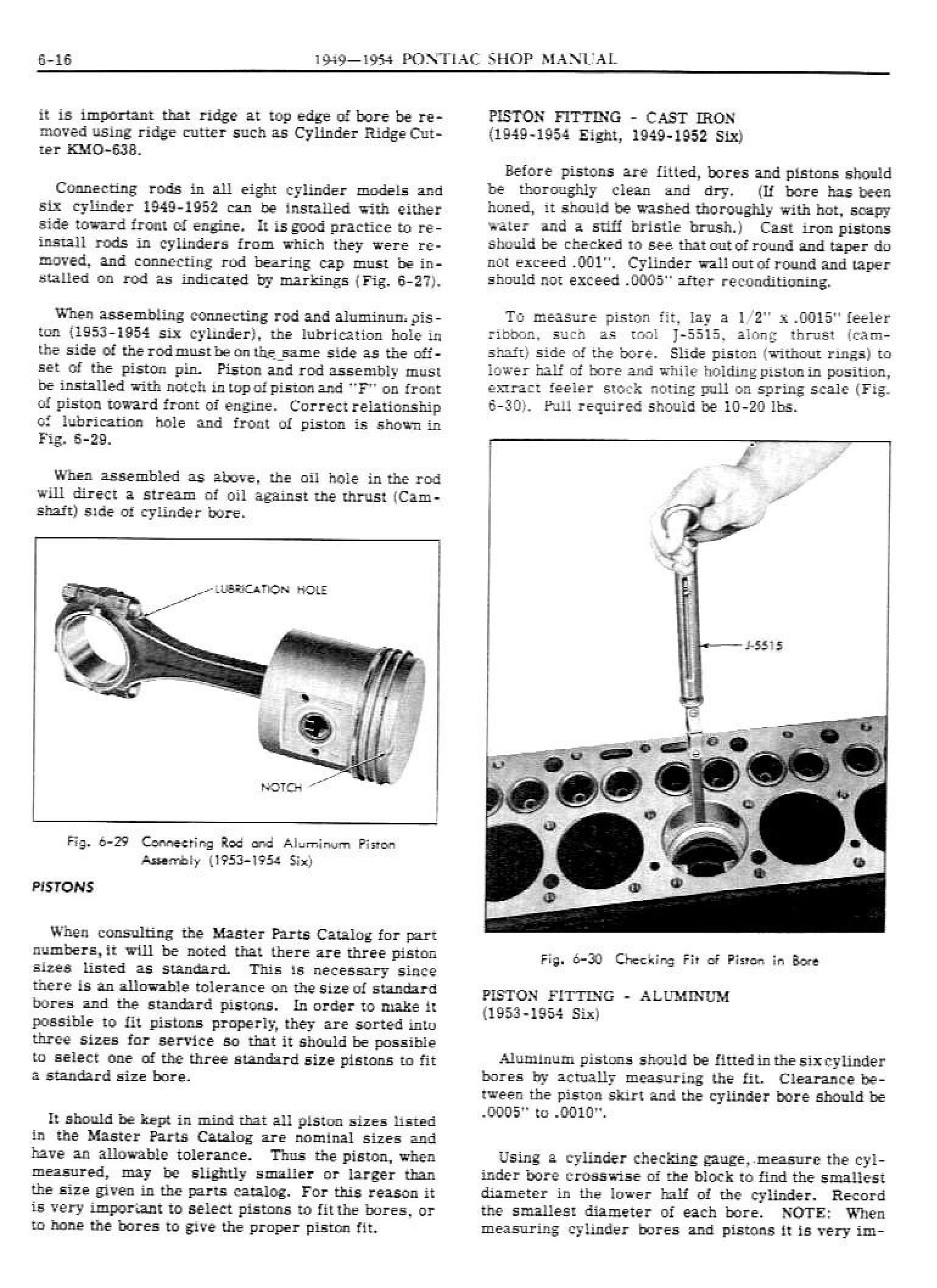 1949 Pontiac Shop Manual- Engine Mechanical Page 16 of 26