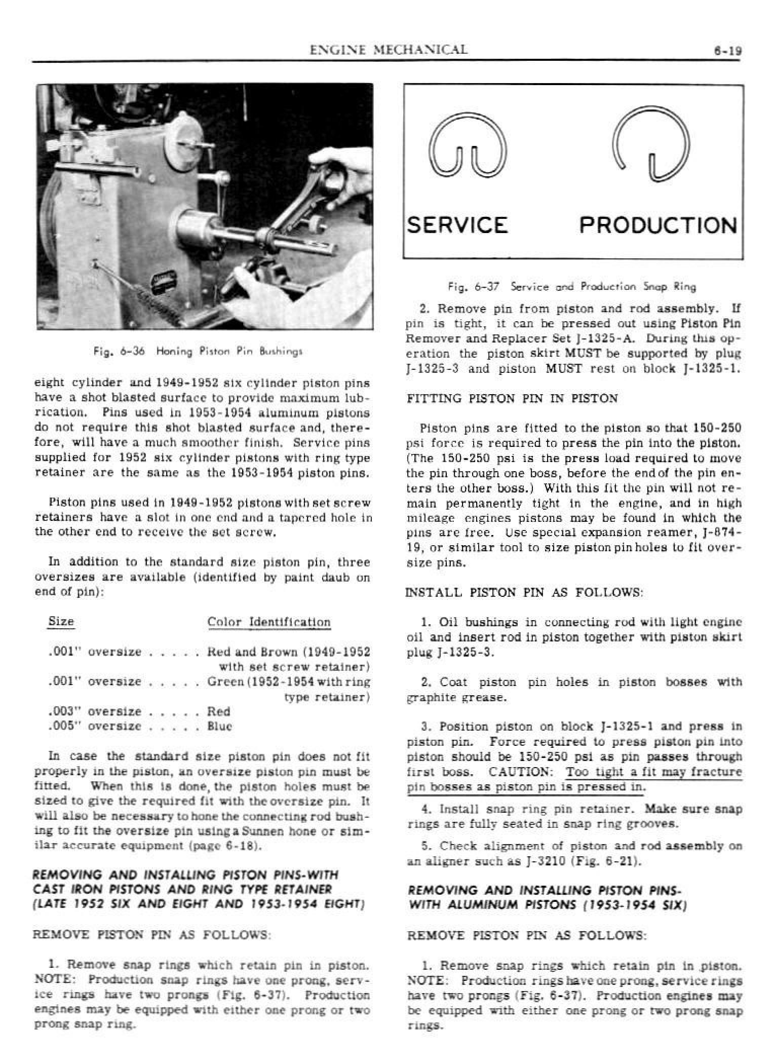 1949 Pontiac Shop Manual- Engine Mechanical Page 19 of 26