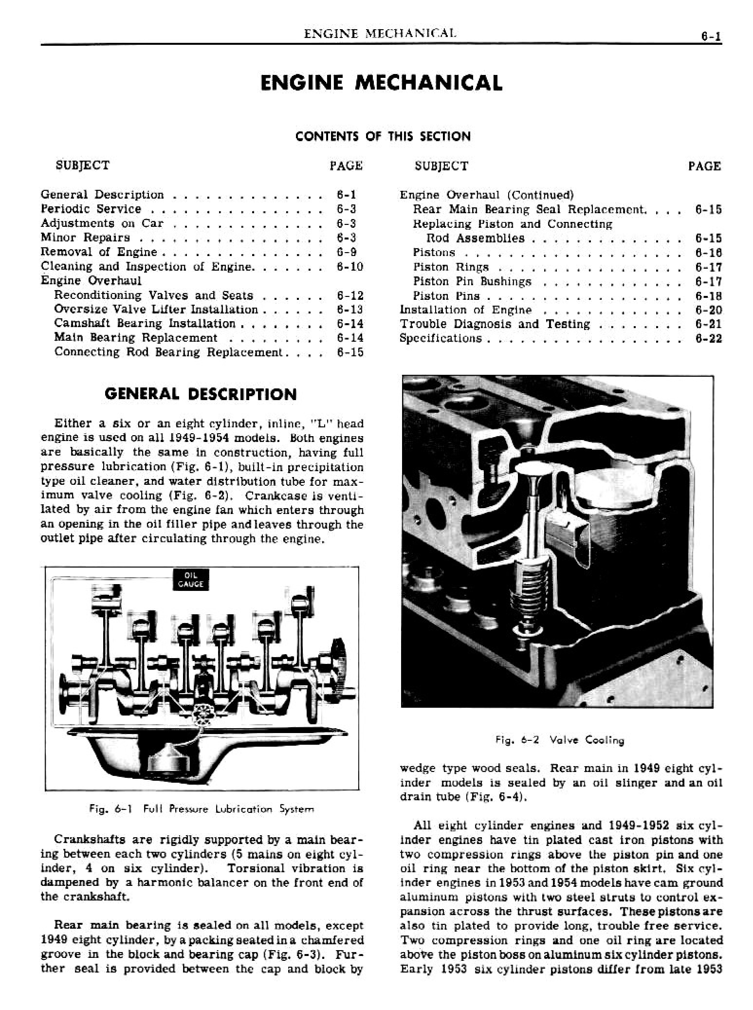 1949 Pontiac Shop Manual- Engine Mechanical Page 1 of 26
