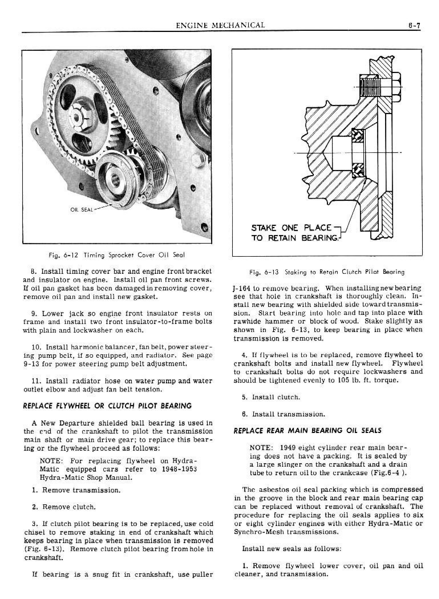 1949 Pontiac Shop Manual- Engine Mechanical Page 7 of 26