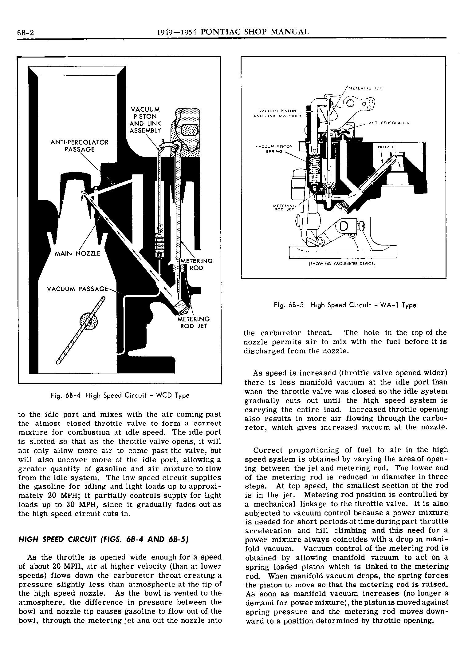 1949 Pontiac Shop Manual- Engine Fuel Page 2 of 42
