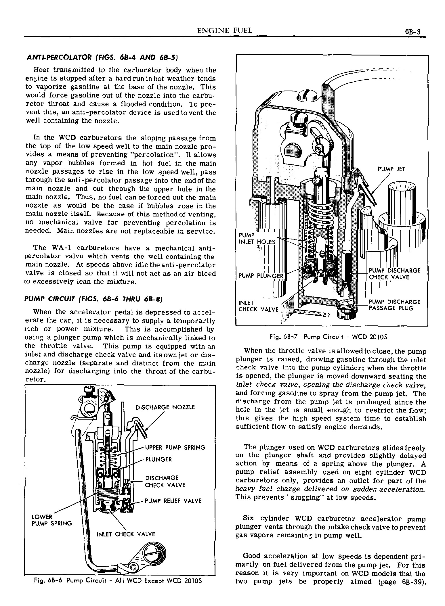 1949 Pontiac Shop Manual- Engine Fuel Page 3 of 42