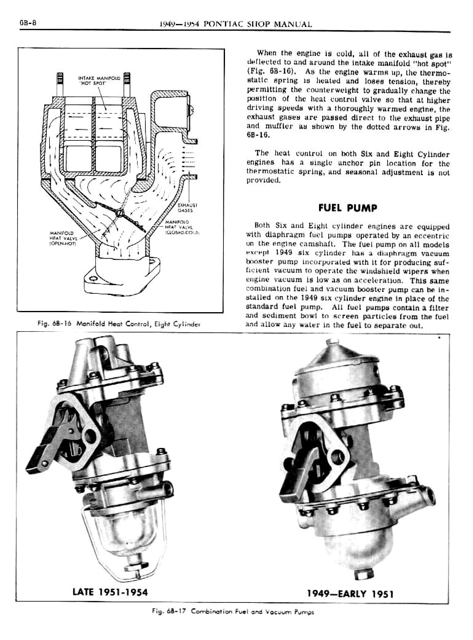 1949 Pontiac Shop Manual- Engine Fuel Page 8 of 42