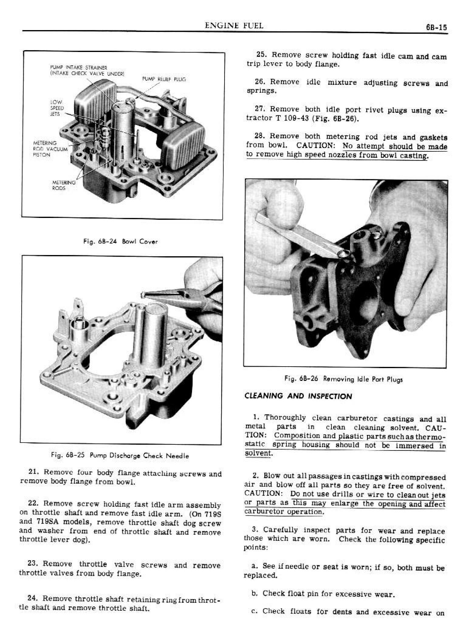 1949 Pontiac Shop Manual- Engine Fuel Page 15 of 42