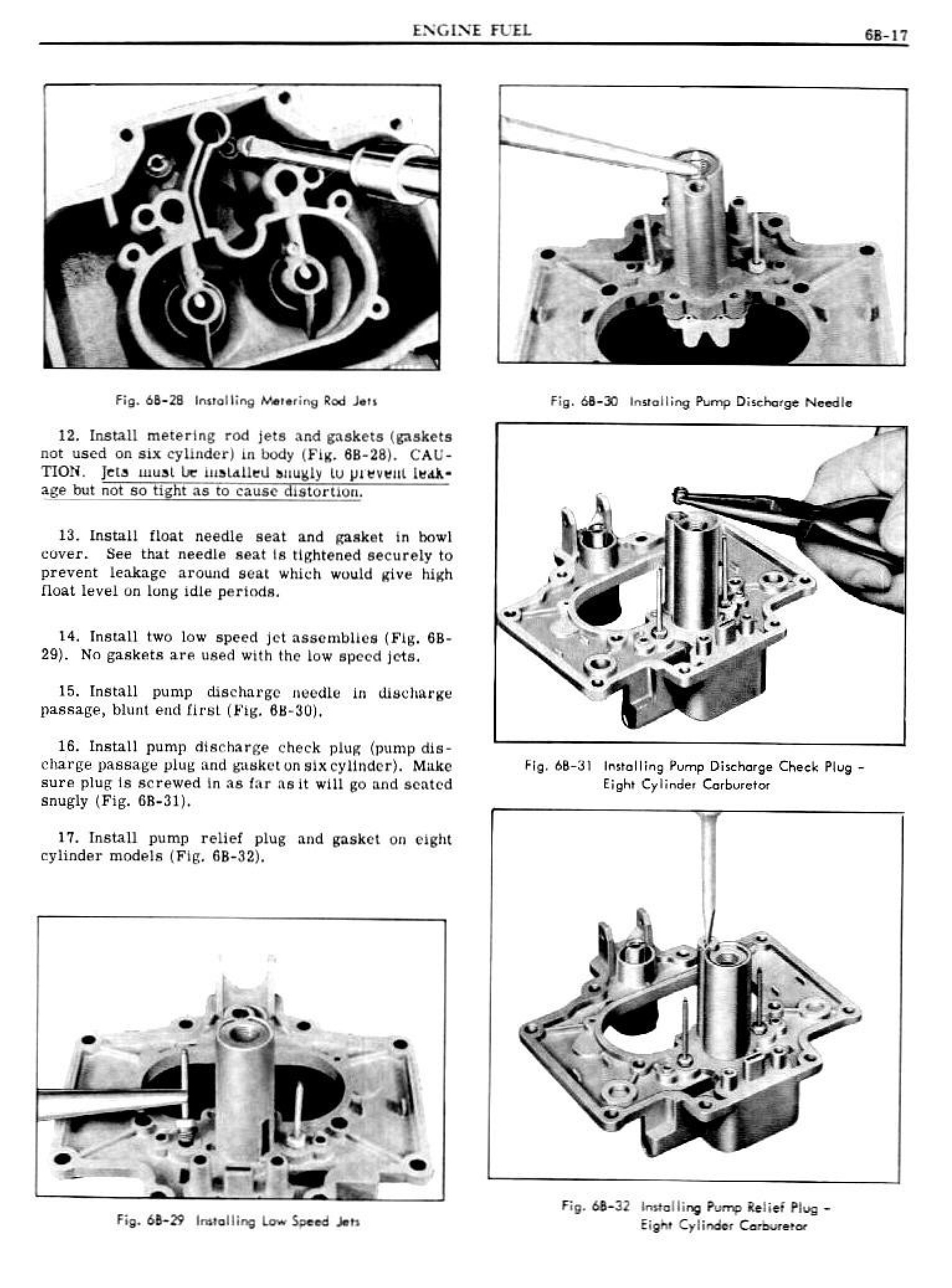 1949 Pontiac Shop Manual- Engine Fuel Page 17 of 42