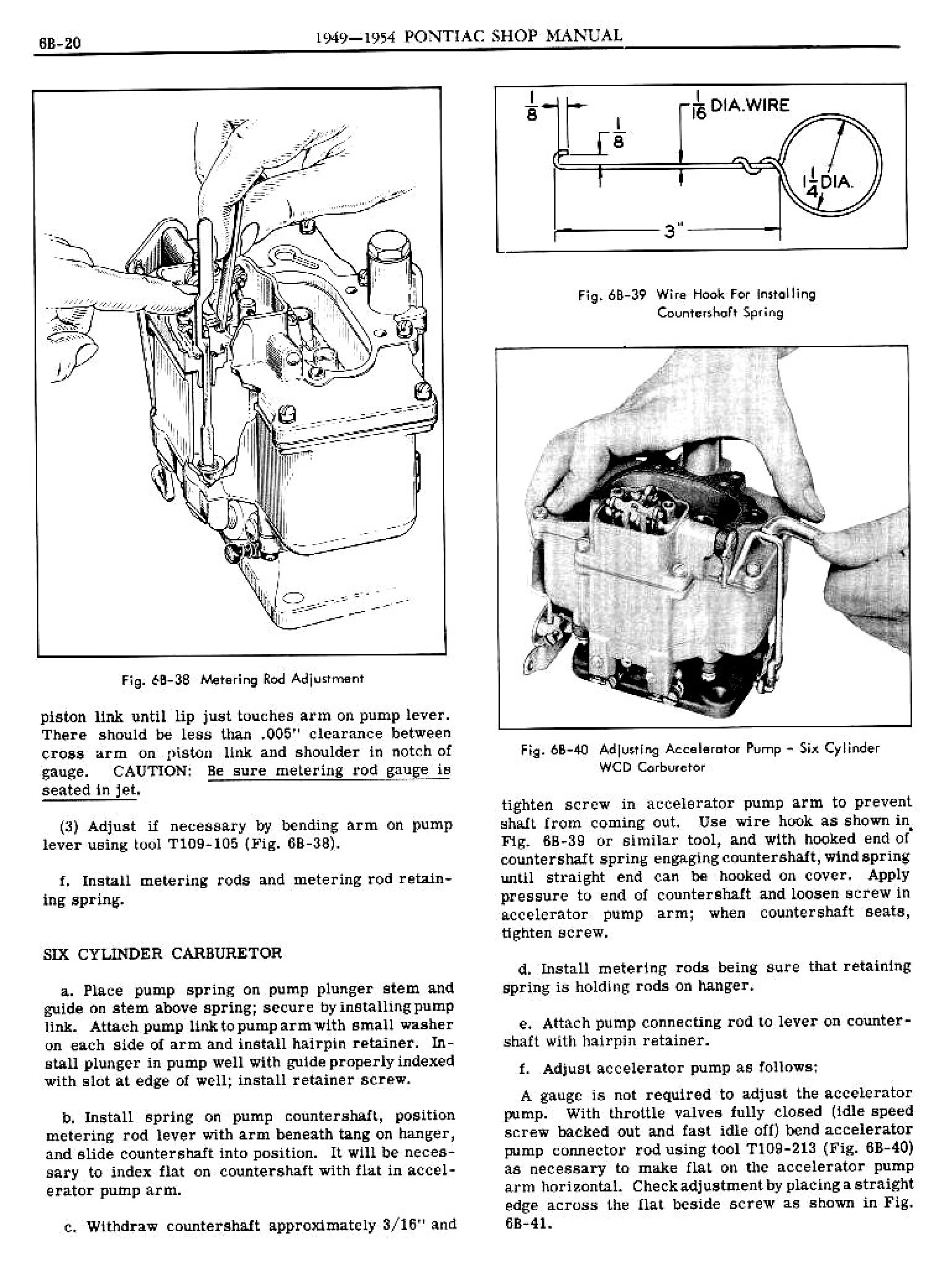 1949 Pontiac Shop Manual- Engine Fuel Page 20 of 42