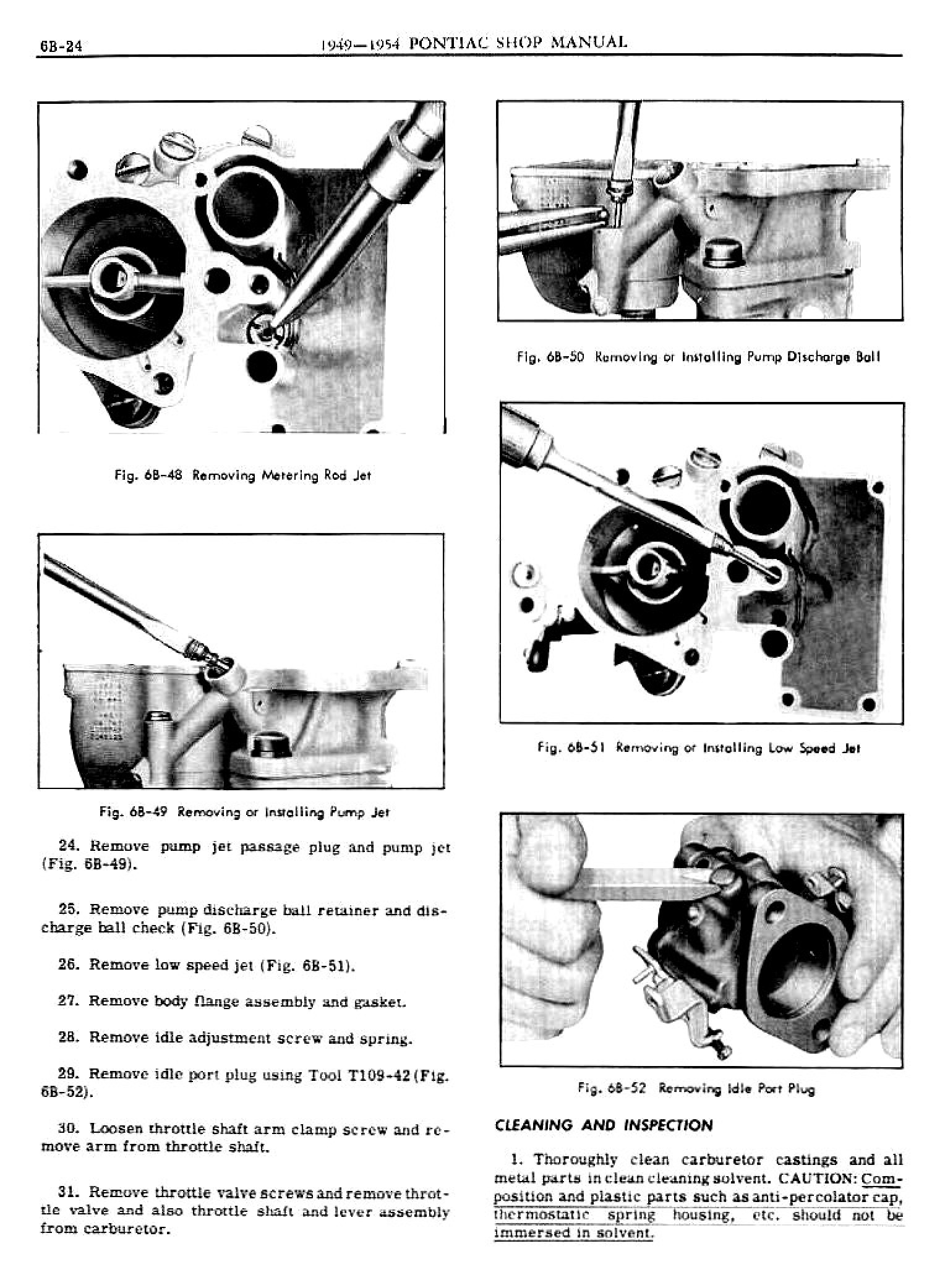 1949 Pontiac Shop Manual- Engine Fuel Page 24 of 42