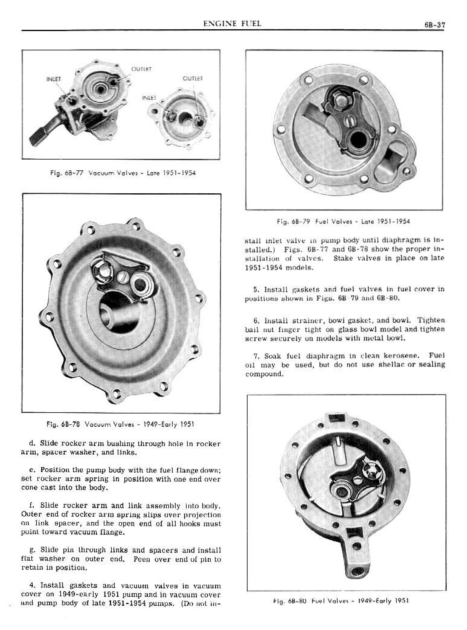1949 Pontiac Shop Manual- Engine Fuel Page 37 of 42