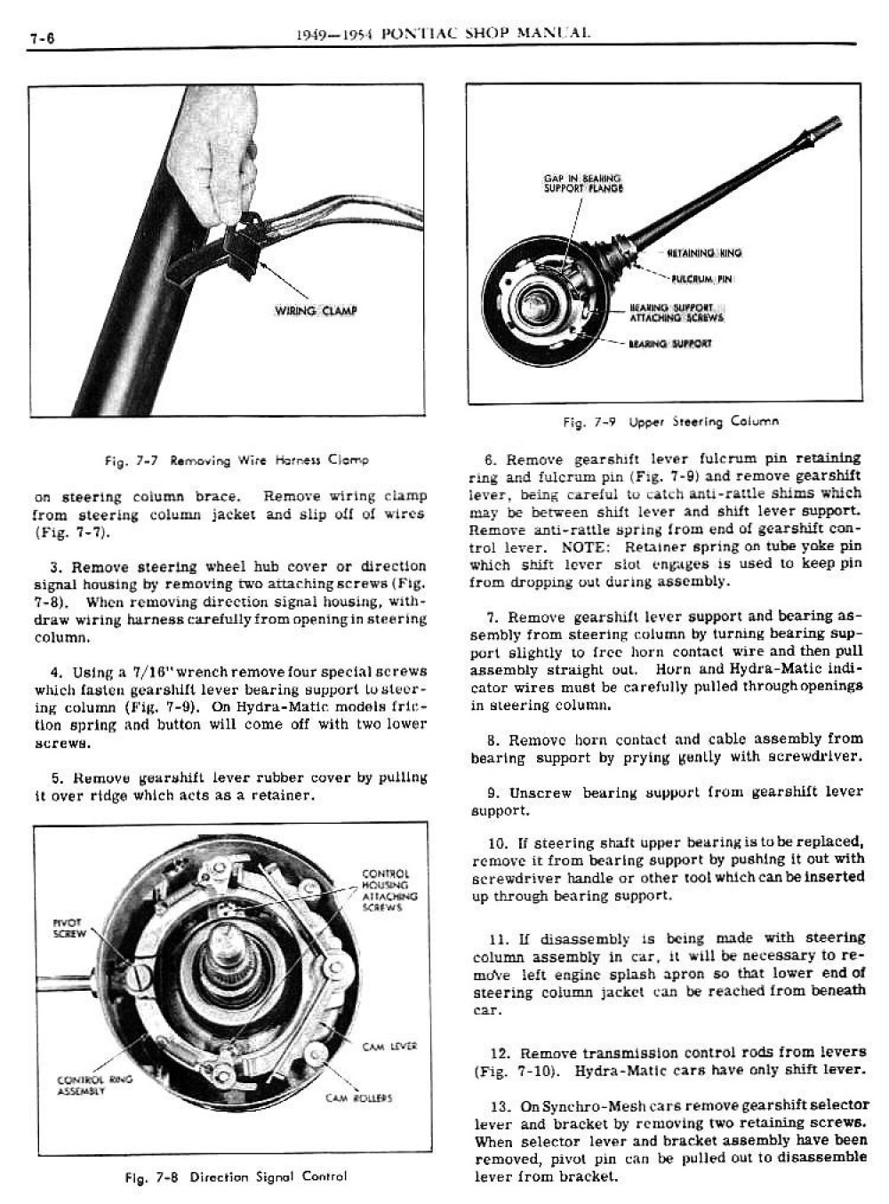 medium resolution of 1949 pontiac shop manual transmission and gearshift control page 6 1949 pontiac wiring harness