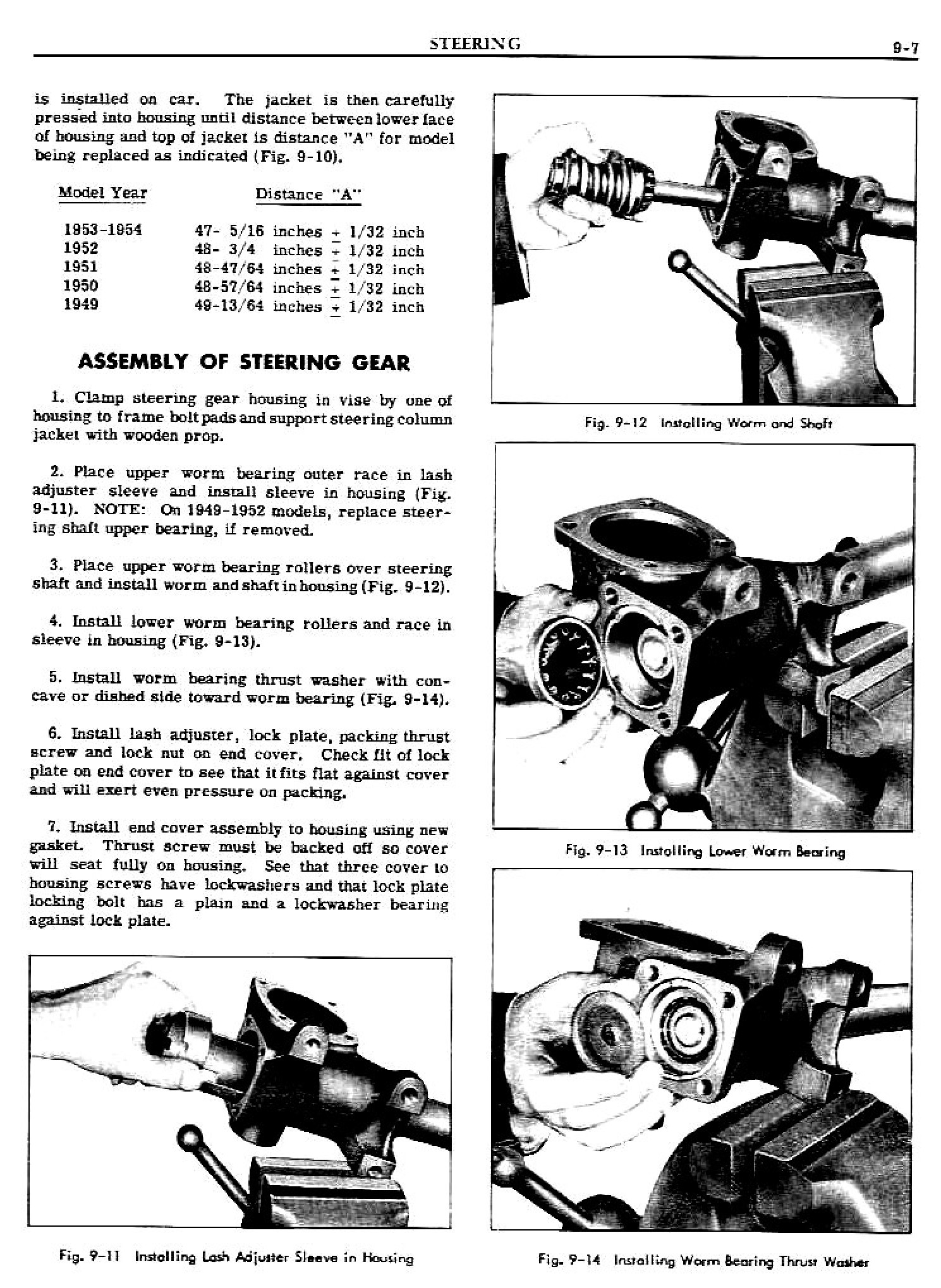 1949 Pontiac Shop Manual- Steering Page 7 of 31