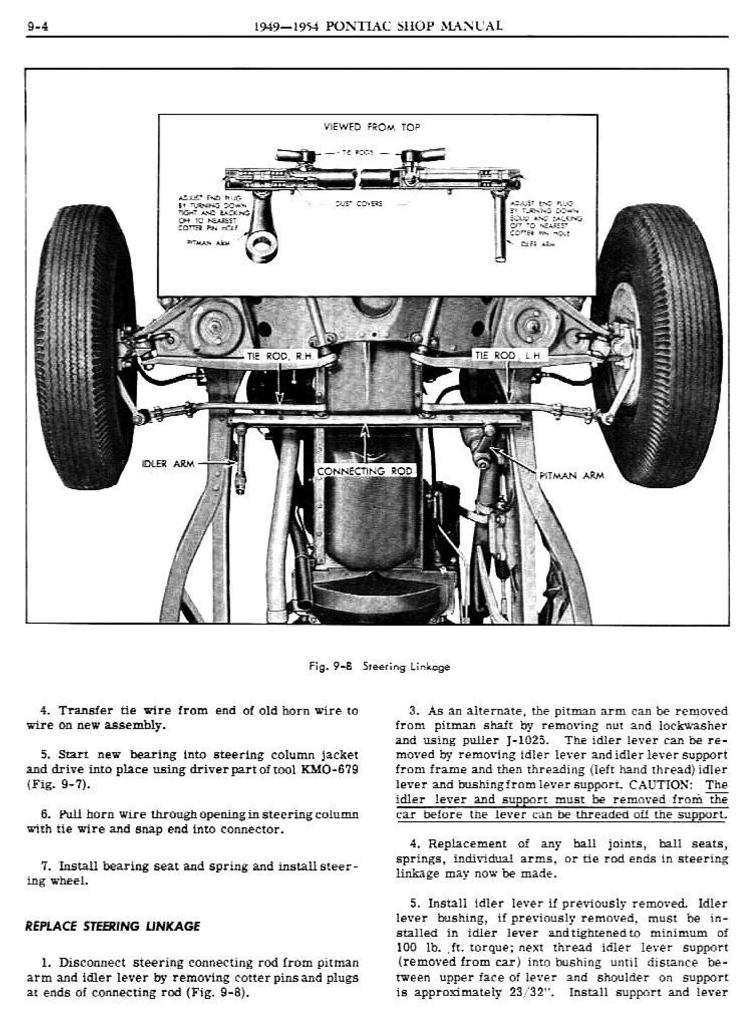 1949 Pontiac Shop Manual- Steering Page 4 of 31