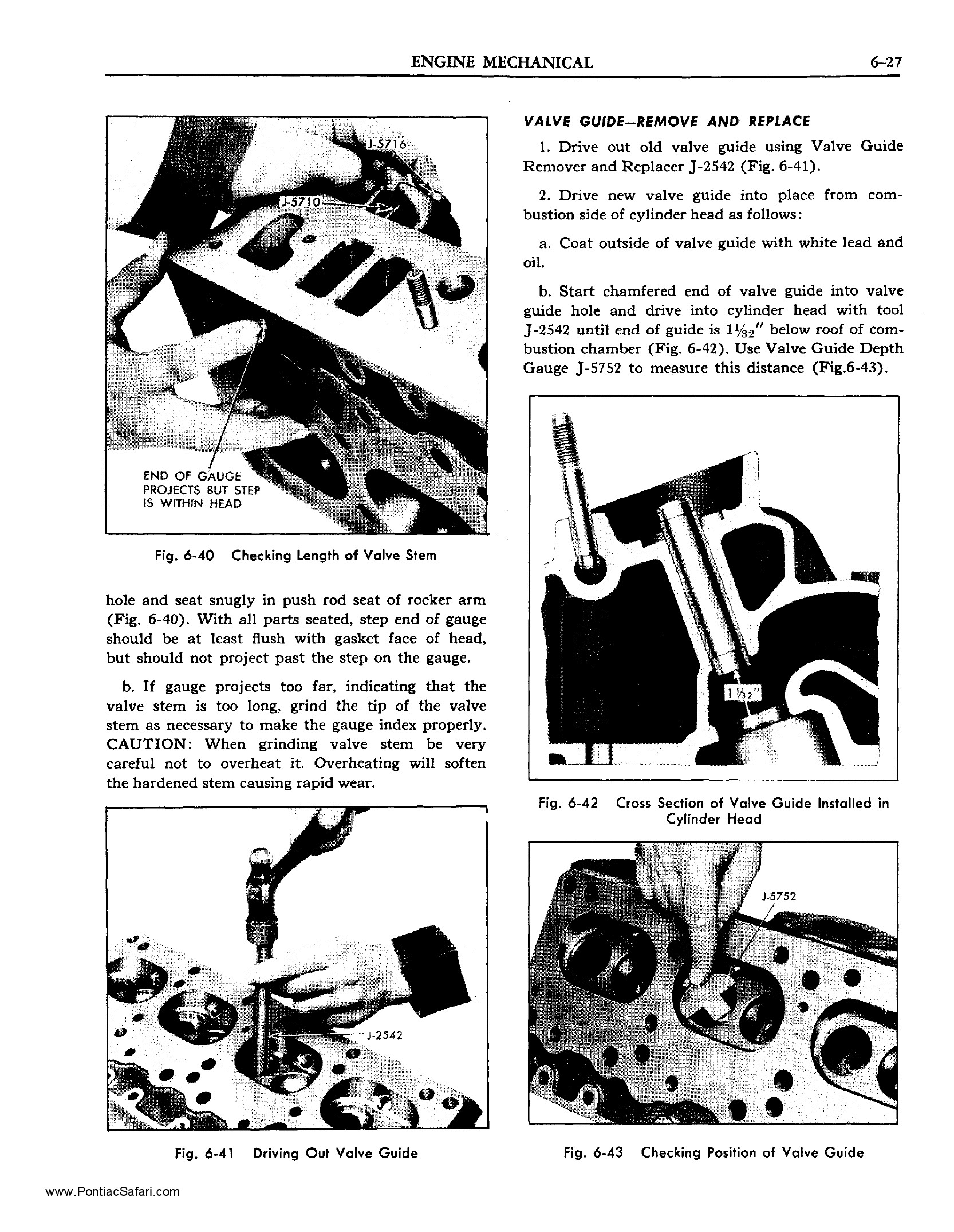 1955 Pontiac Shop Manual- Engine Mechanical Page 28 of 53