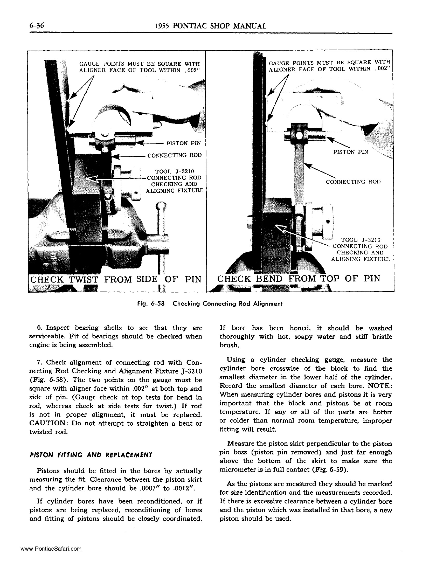 1955 Pontiac Shop Manual- Engine Mechanical Page 37 of 53