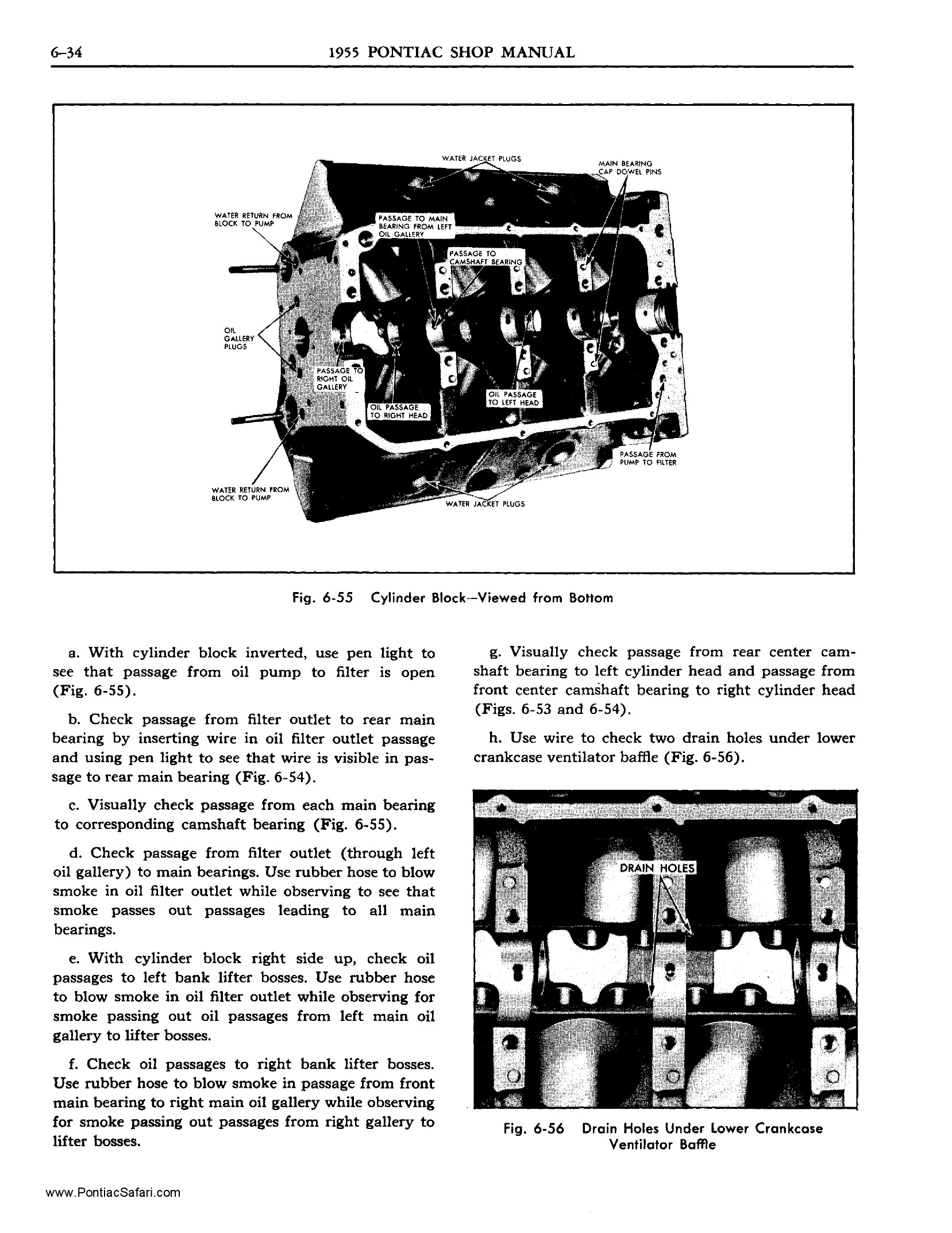 1955 Pontiac Shop Manual- Engine Mechanical Page 35 of 53