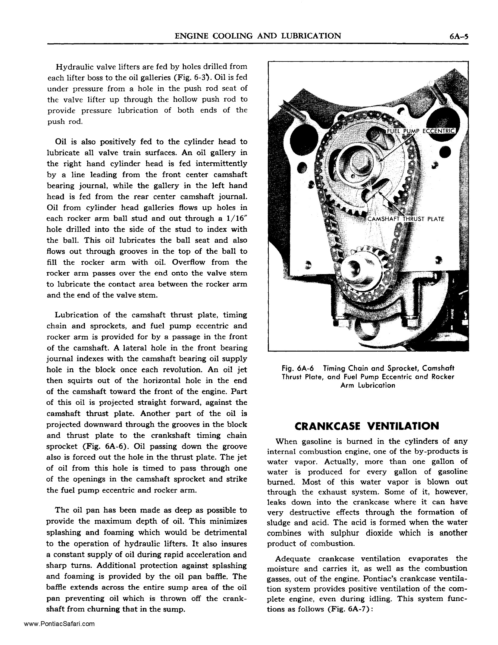 1955 Pontiac Shop Manual- Engine Cooling and Lubrication