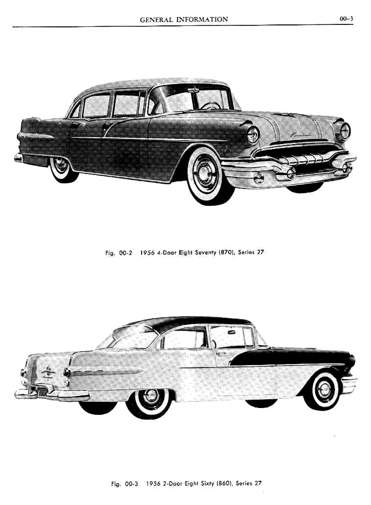 1956 Pontiac Shop Manual- Gen Information Page 3 of 6