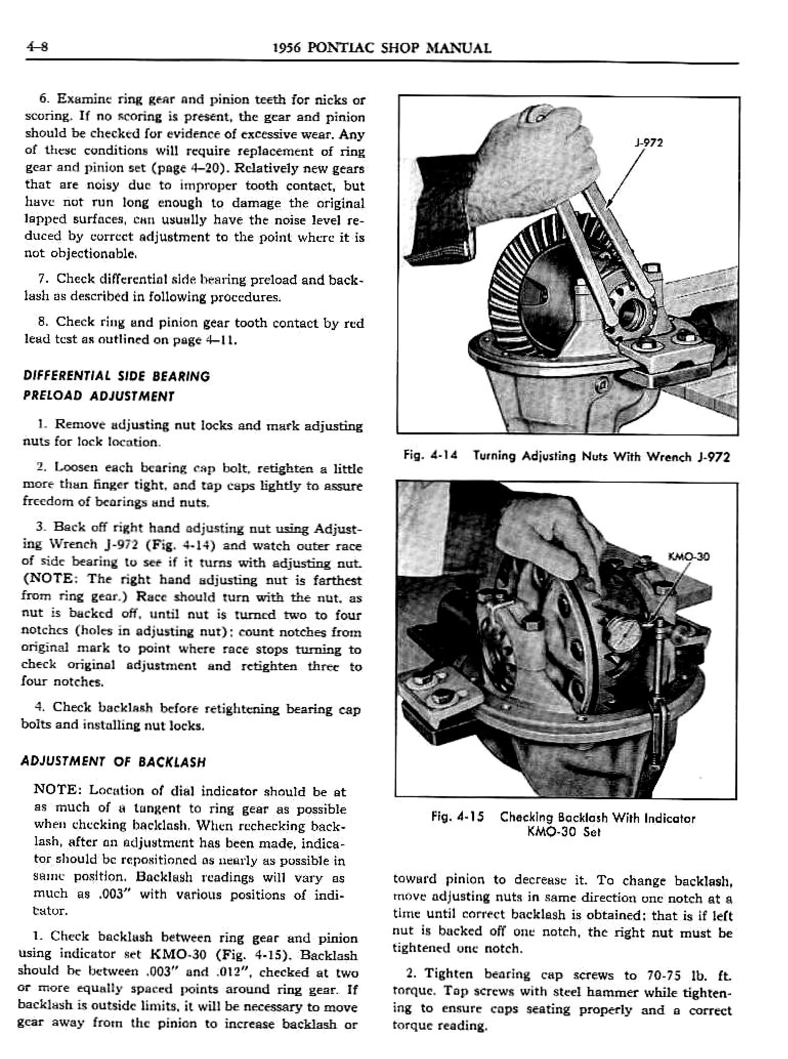 1956 Pontiac Shop Manual- Rear Suspension Page 8 of 33