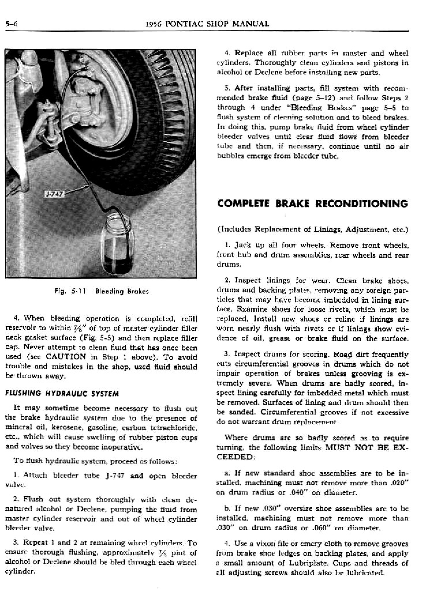 1956 Pontiac Shop Manual- Brakes Page 7 of 49