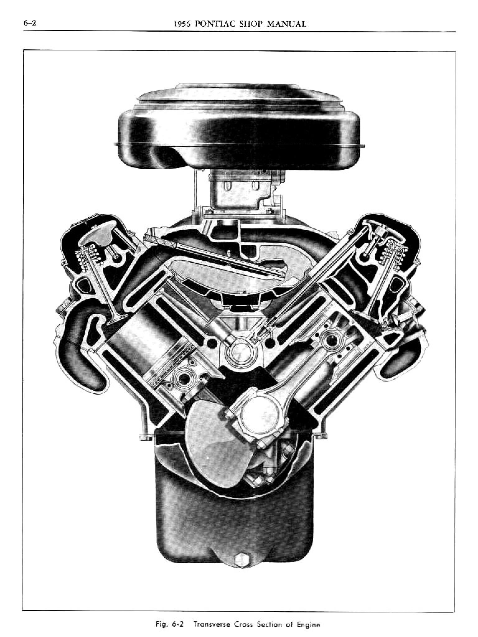 1956 Pontiac Shop Manual- Engine Page 3 of 56