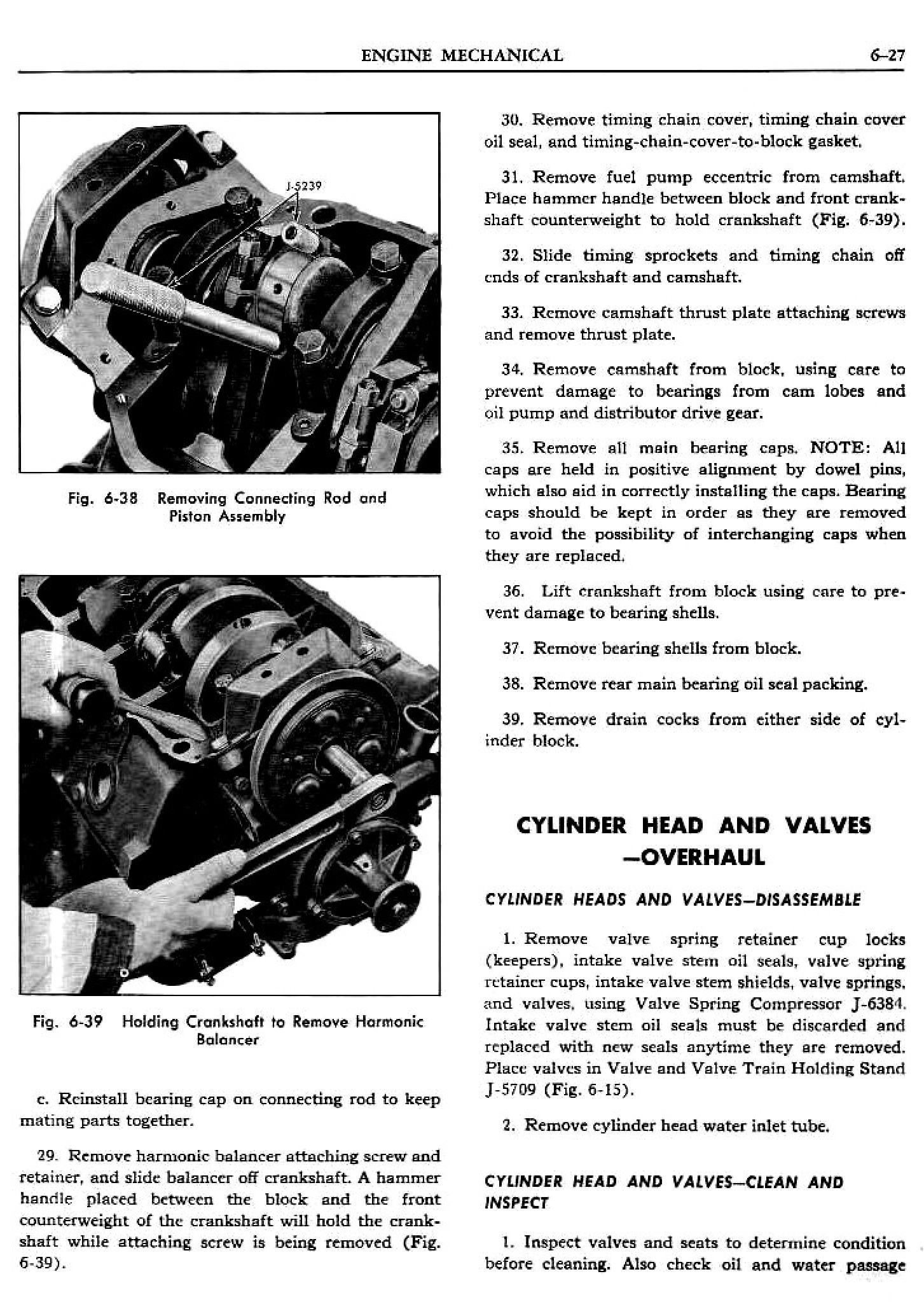 1956 Pontiac Shop Manual- Engine Page 28 of 56
