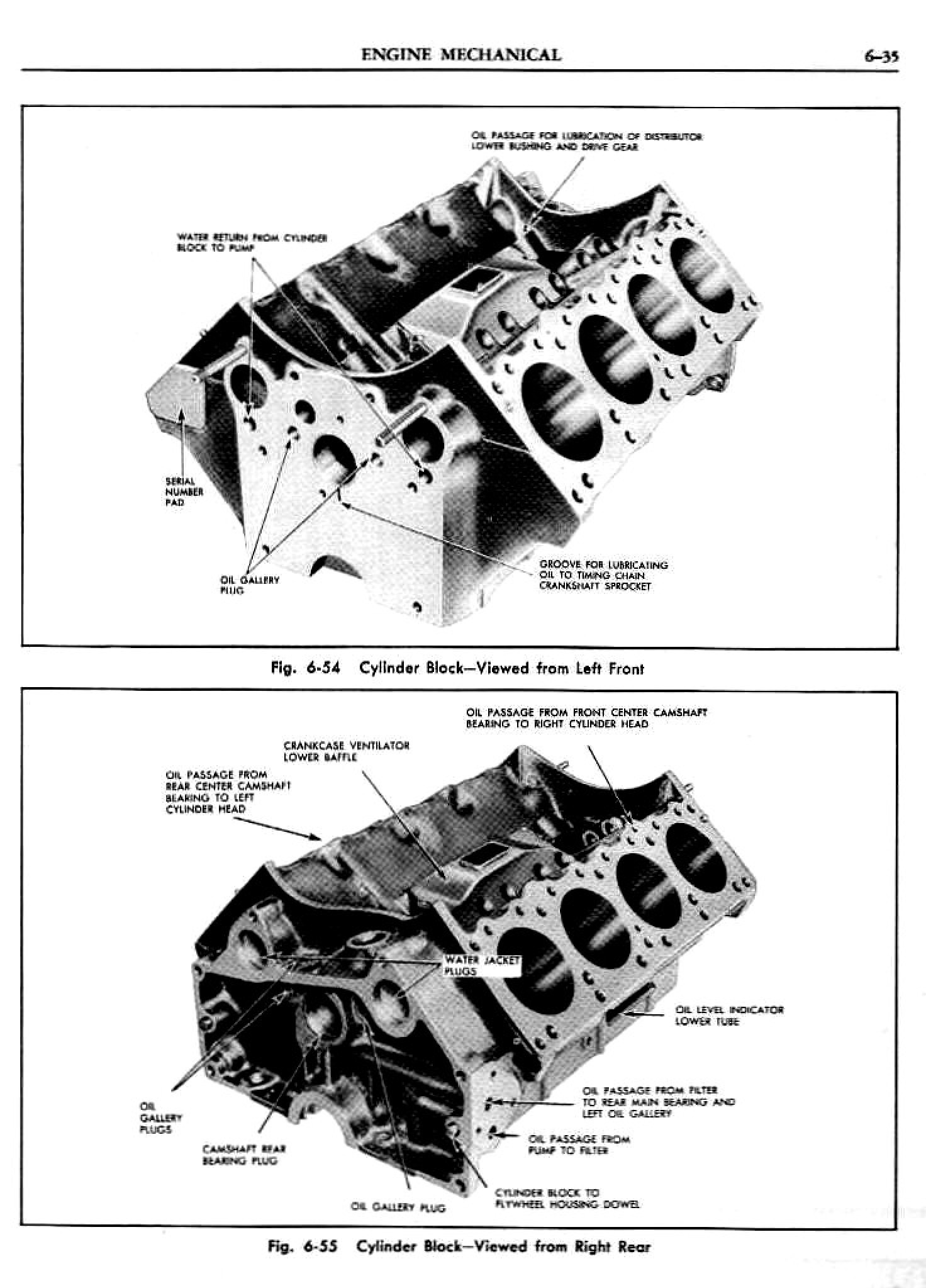 1956 Pontiac Shop Manual- Engine Page 36 of 56