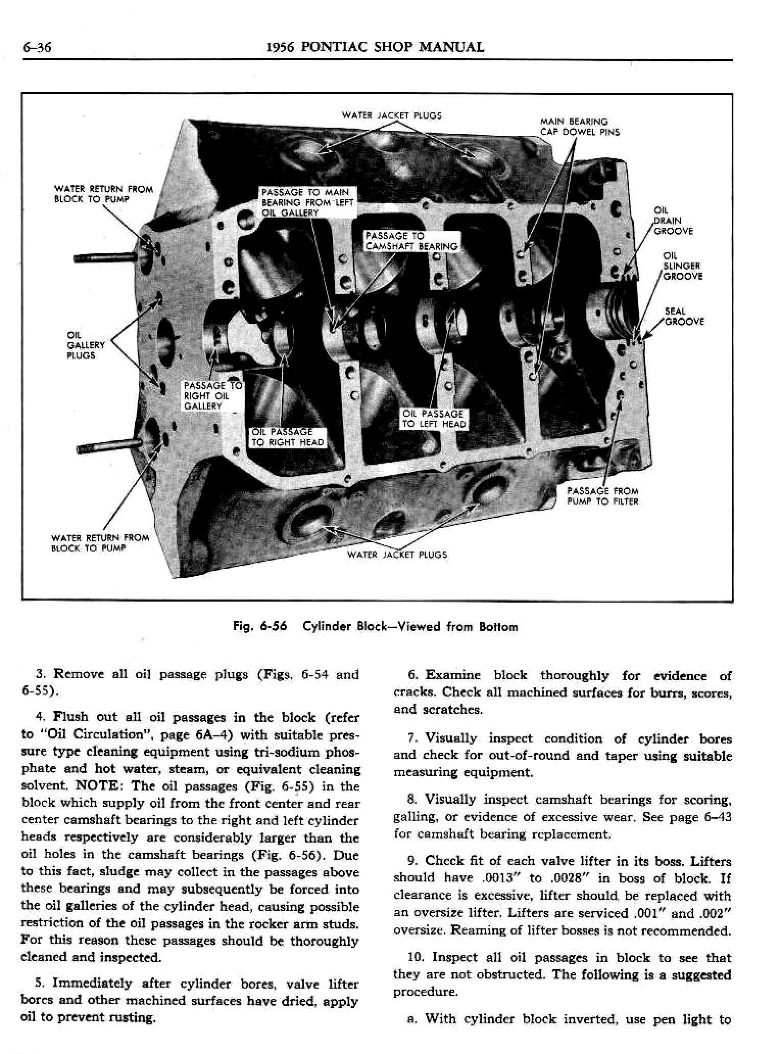 1956 Pontiac Shop Manual- Engine Page 37 of 56