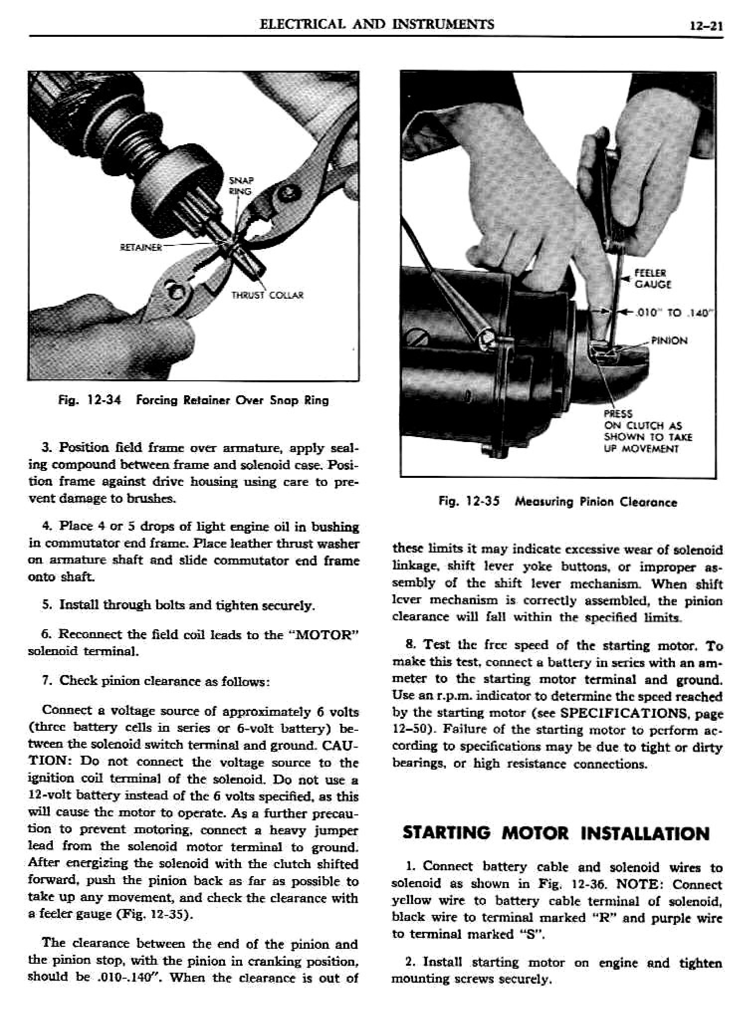 1956 Pontiac Shop Manual- Electrical Page 22 of 55