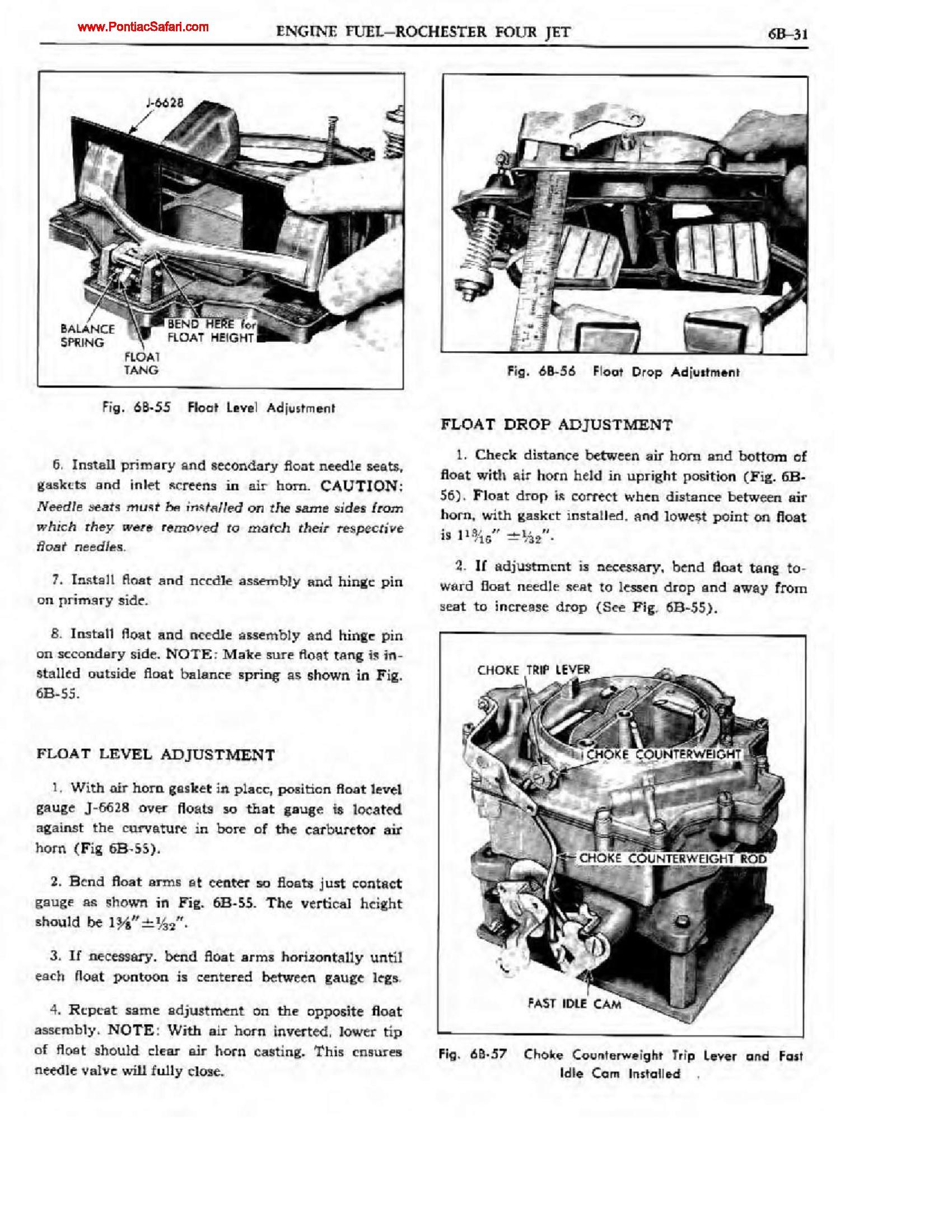 Pontiac Shop Manual