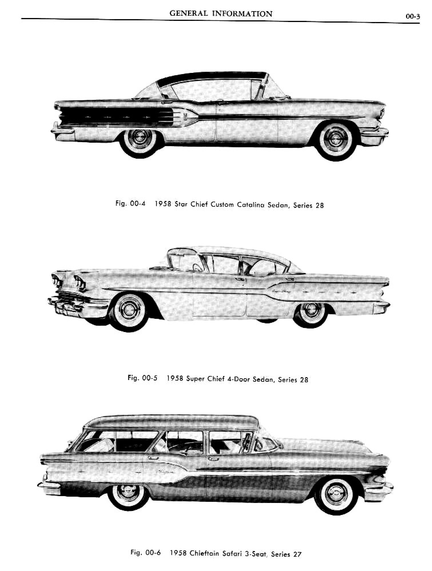 1958 Pontiac Shop Manual- Gen Information Page 4 of 7
