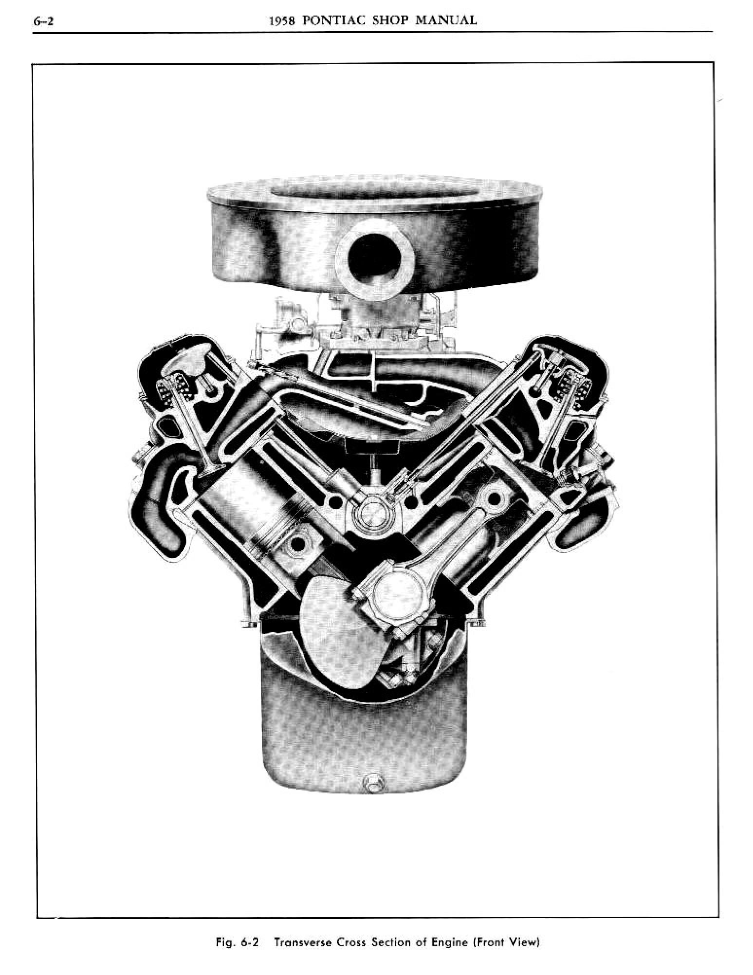 1958 Pontiac Shop Manual- Engine Page 3 of 51