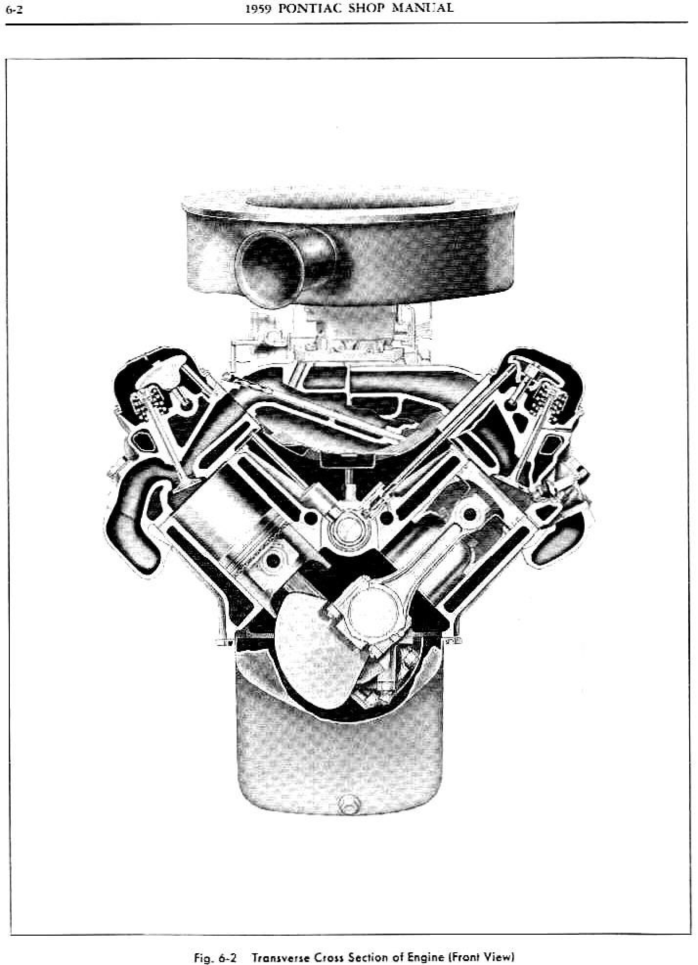 1959 Pontiac Shop Manual- Engine Page 3 of 49