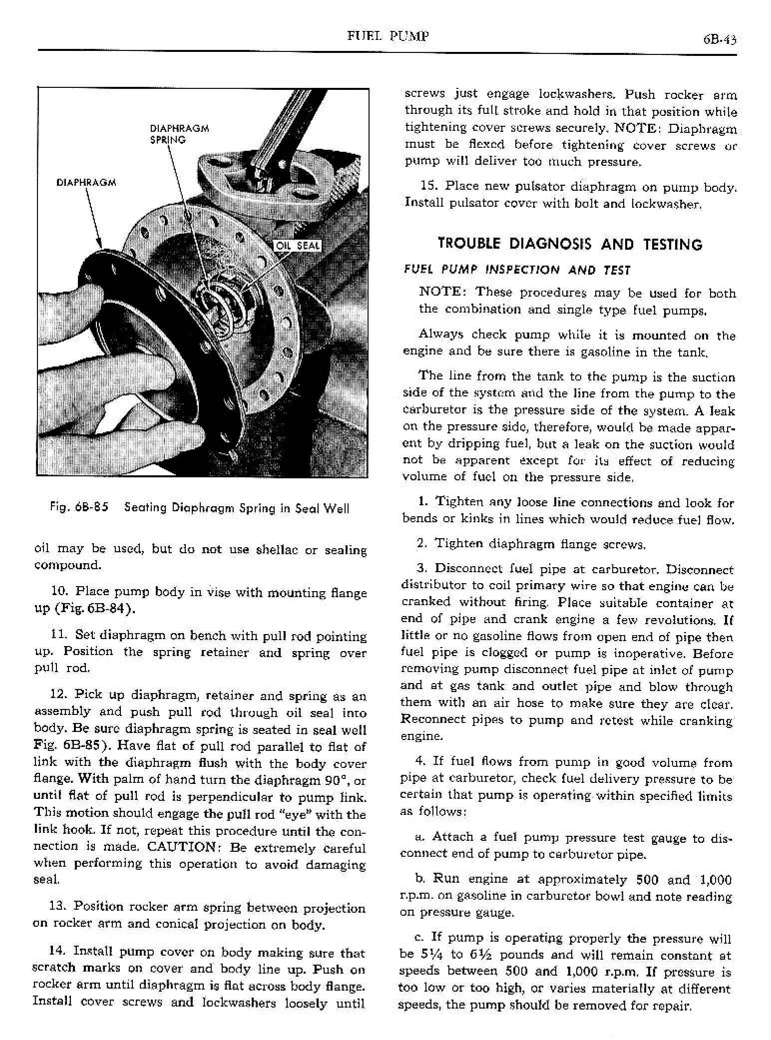 1960 Pontiac Shop Manual- Engine Fuel Page 46 of 46