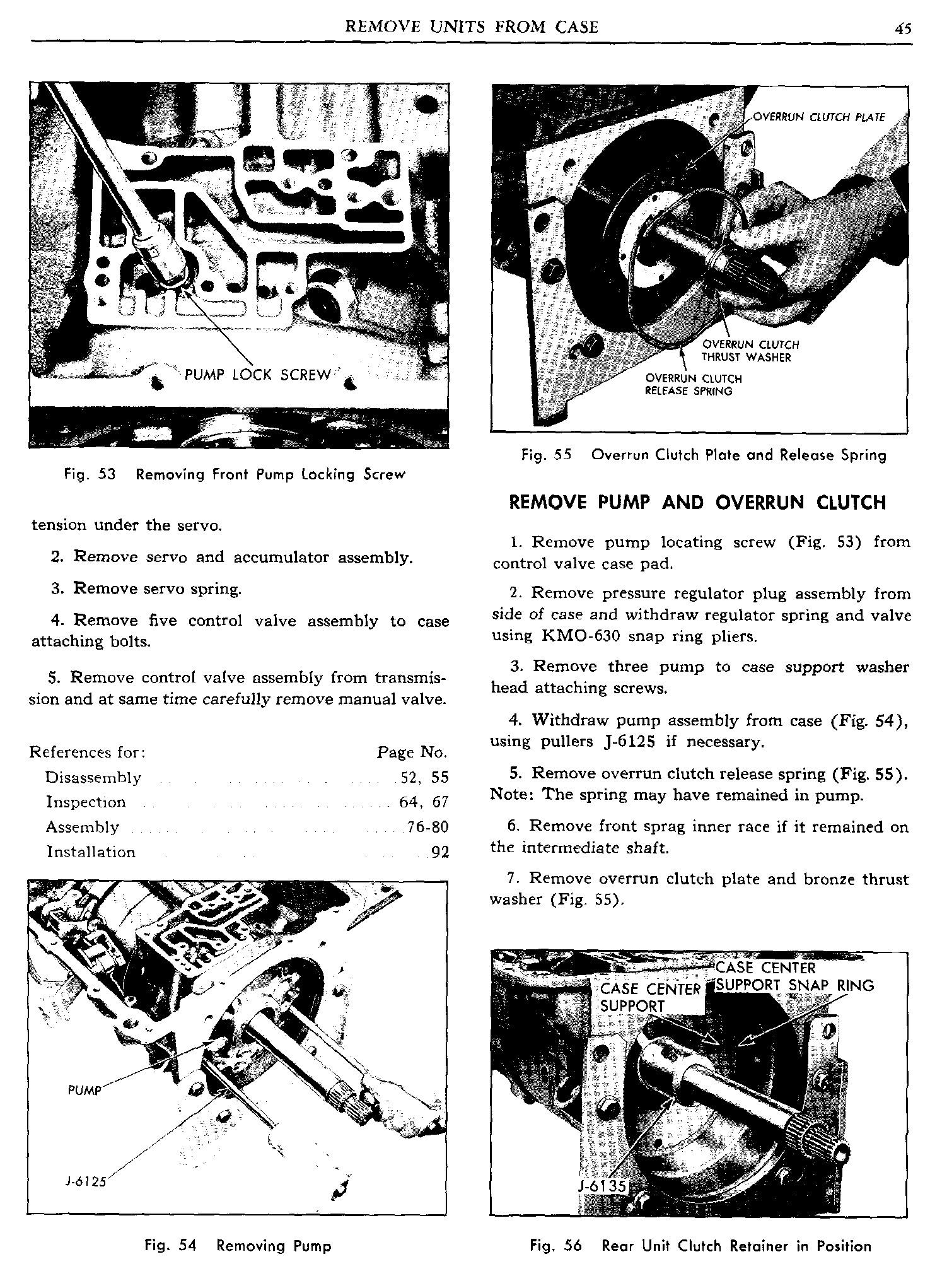 1960 Pontiac Shop Manual- Hydra-Matic Page 45 of 112