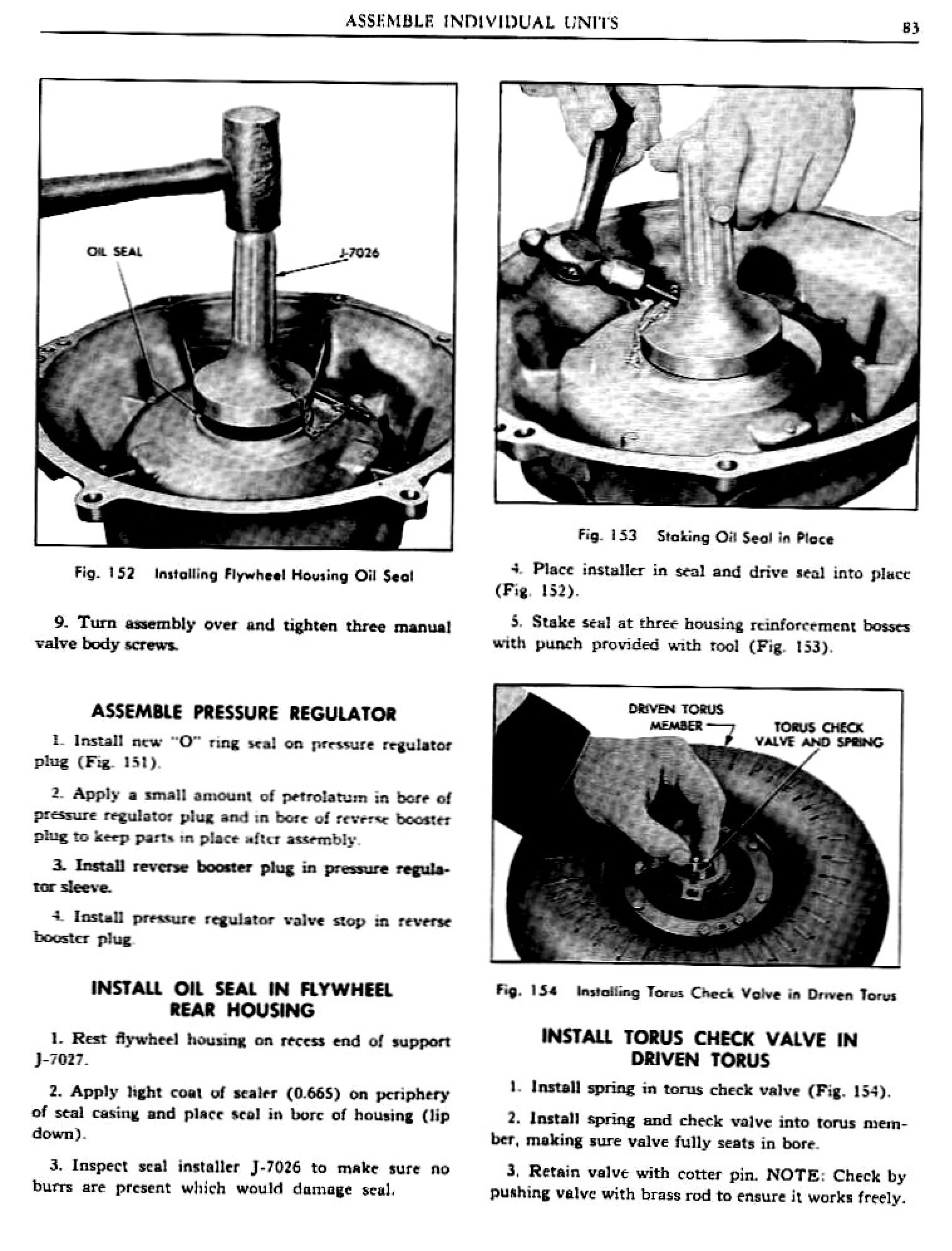 1960 Pontiac Shop Manual- Hydra-Matic Page 83 of 112