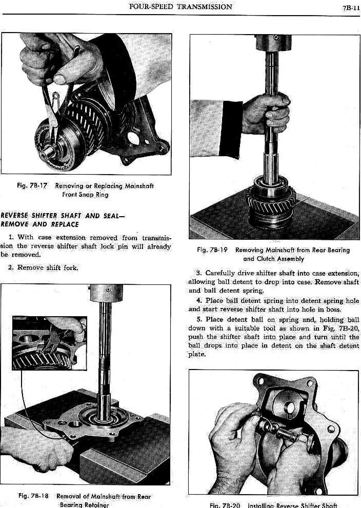 1961 Pontiac Shop Manual- 4-Speed Trans Page 11 of 20