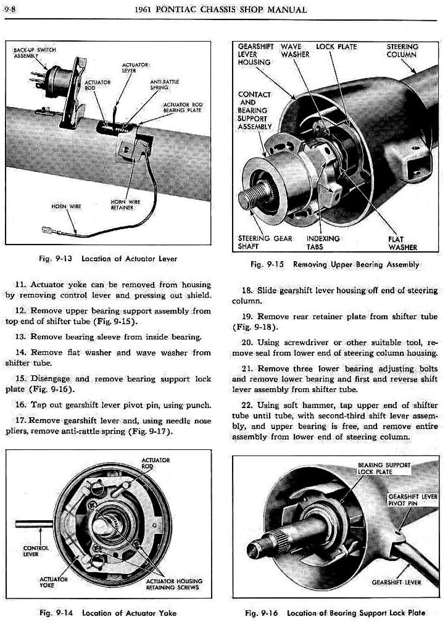 1961 Pontiac Shop Manual- Steering Page 8 of 22