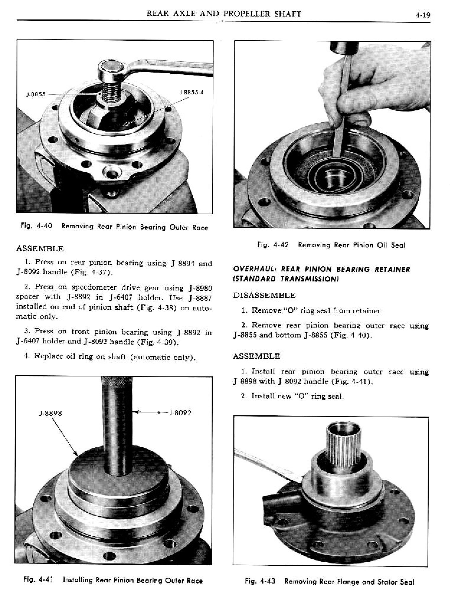1961 Pontiac Tempest Shop Manual- Rear Axle Page 19 of 28