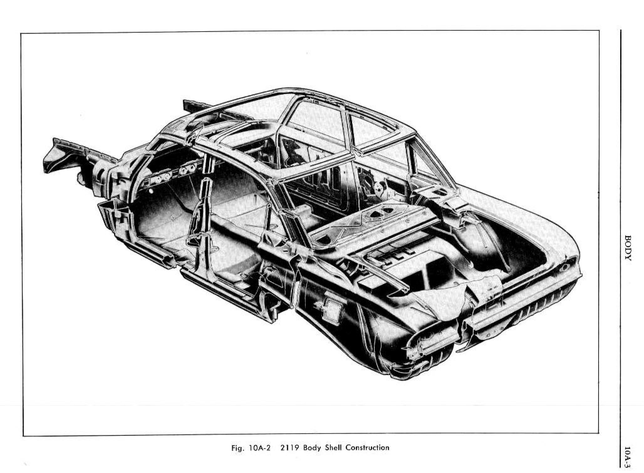 1961 Pontiac Tempest Shop Manual- Body Page 4 of 62
