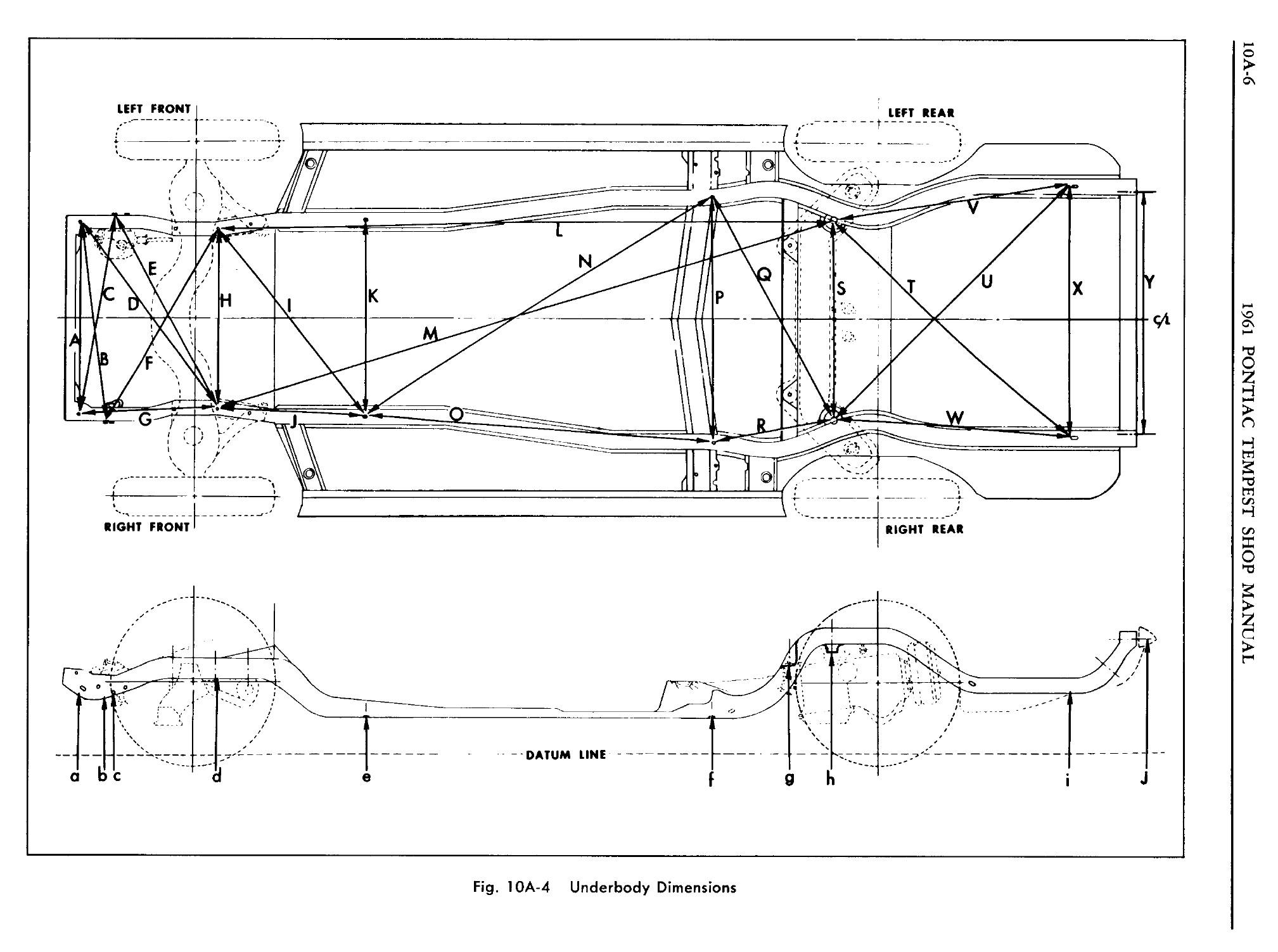 1961 Pontiac Tempest Shop Manual- Body Page 7 of 62
