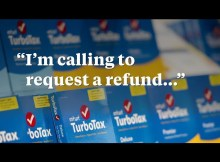 Listen to TurboTax Lie to Get Out of Refunding Overcharged Customers