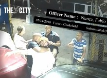 Evidence: NYPD Detective Fabio Nunez Uses a Prohibited Chokehold After Dispute Over Loud Music