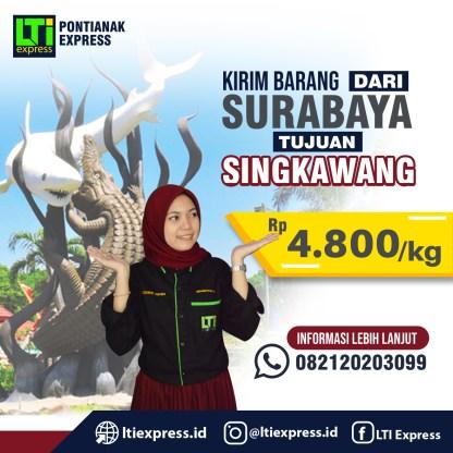 ekspedisi surabaya singkawang