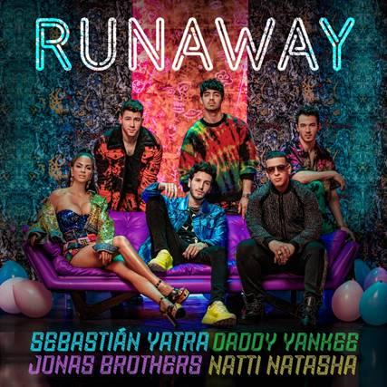 """Sebastián Yatra Estrena Nuevo Sencillo """"Runaway"""" junto a Jonas Brothers, Daddy Yankee y Natti Natasha"""