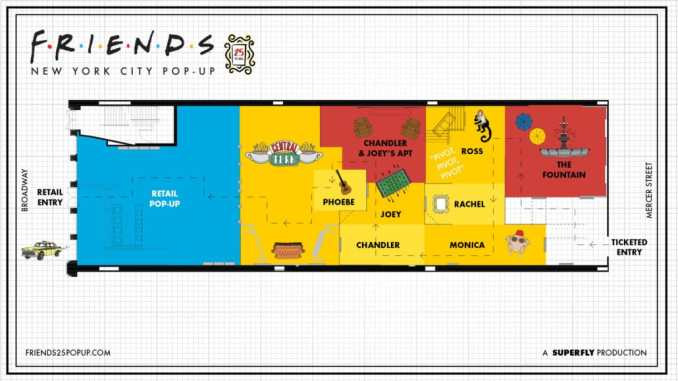 Friends 25 - New York City Pop-Up Experience