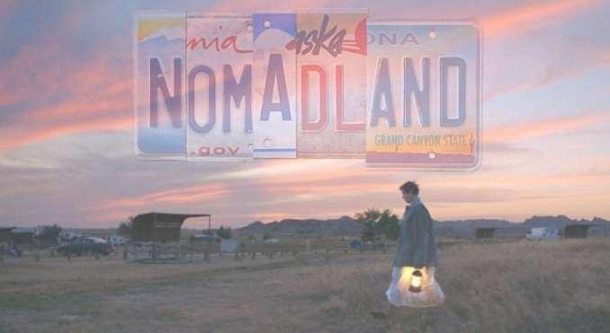 Nomadland movie banner